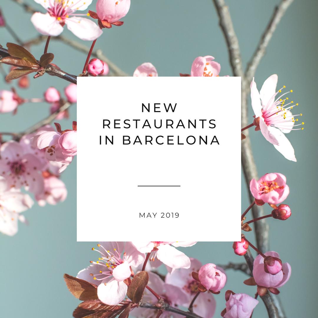 New Restaurants in Barcelona