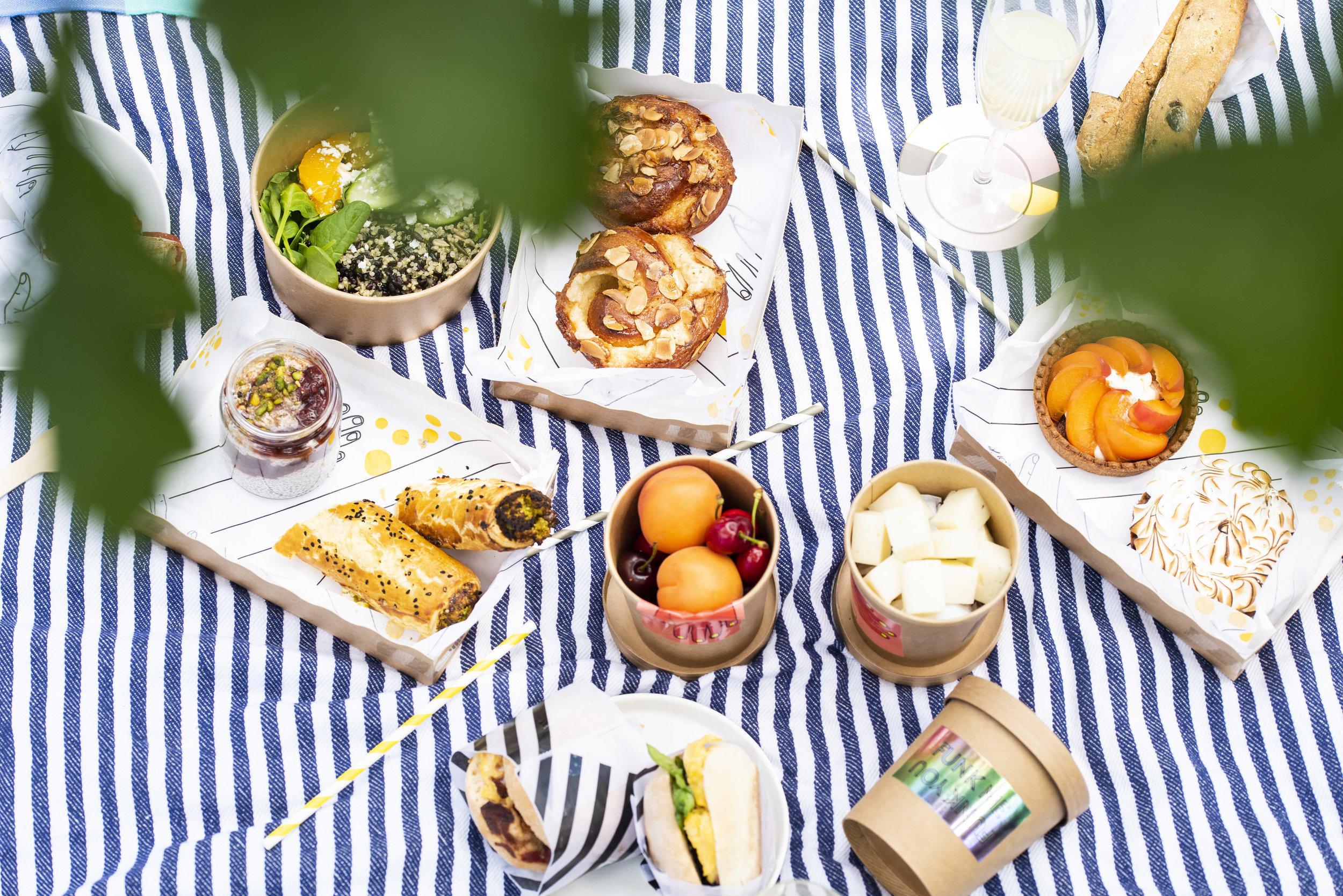 Picnic by Funky Bakers, Barcelona. Photo © Barcelona Food Experience.