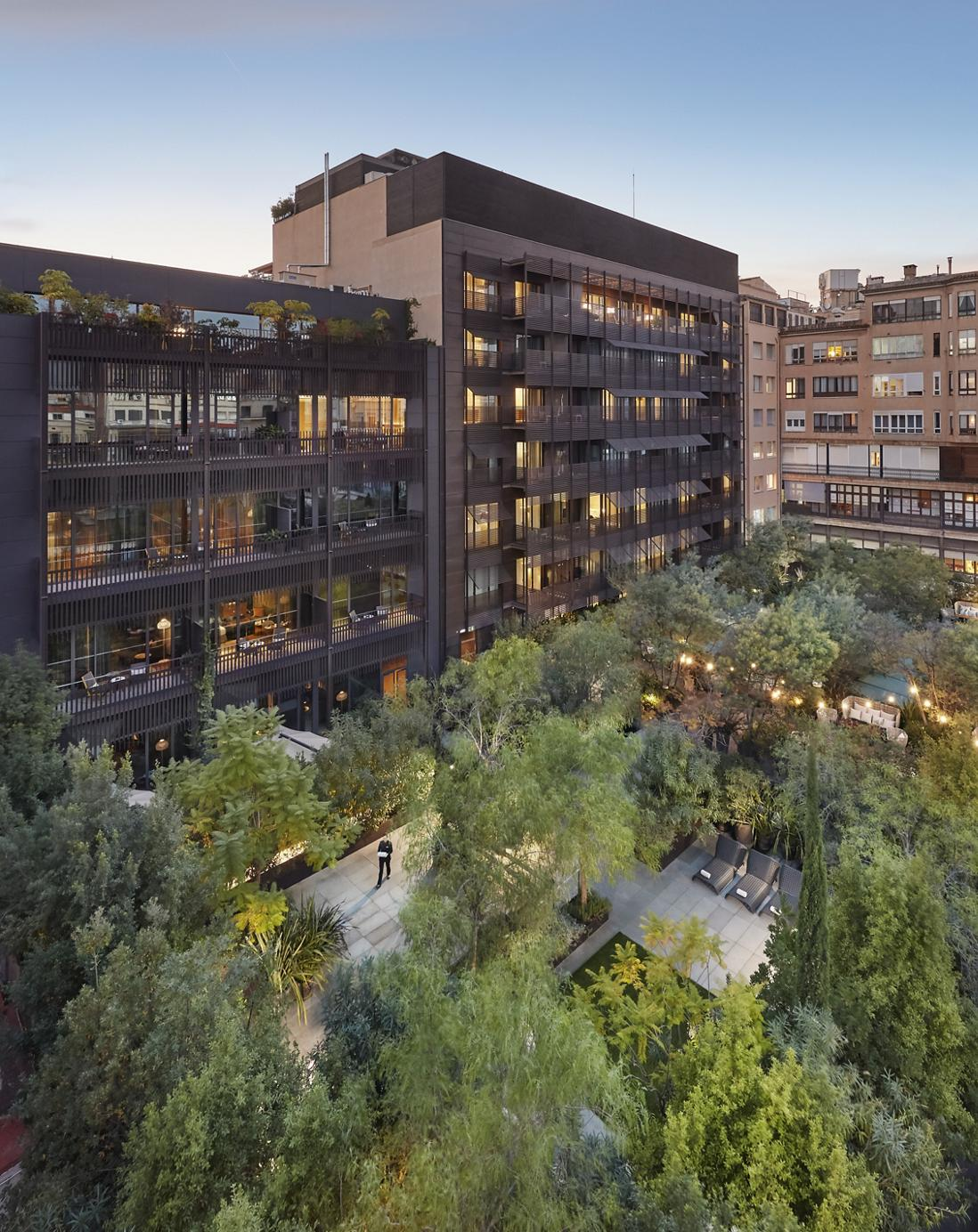 Mimosa Terrace, Mandarin Oriental, Barcelona.
