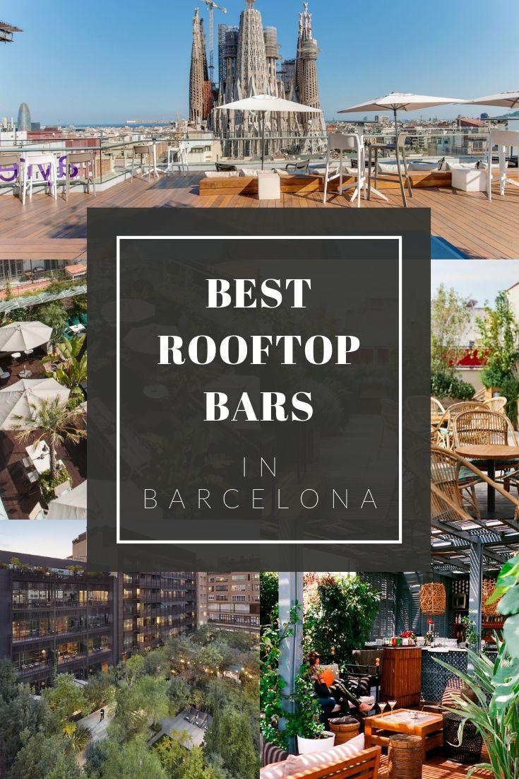 Best Rooftop Bars In Barcelona Barcelona Food Experience