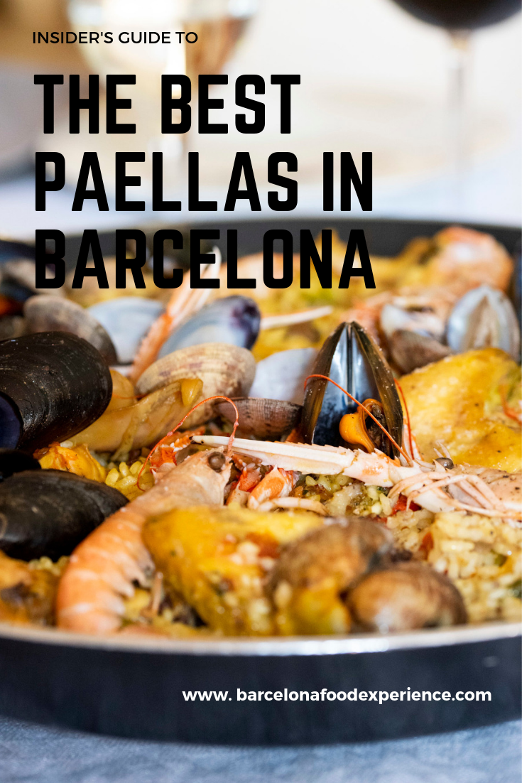 The best paellas in Barcelona