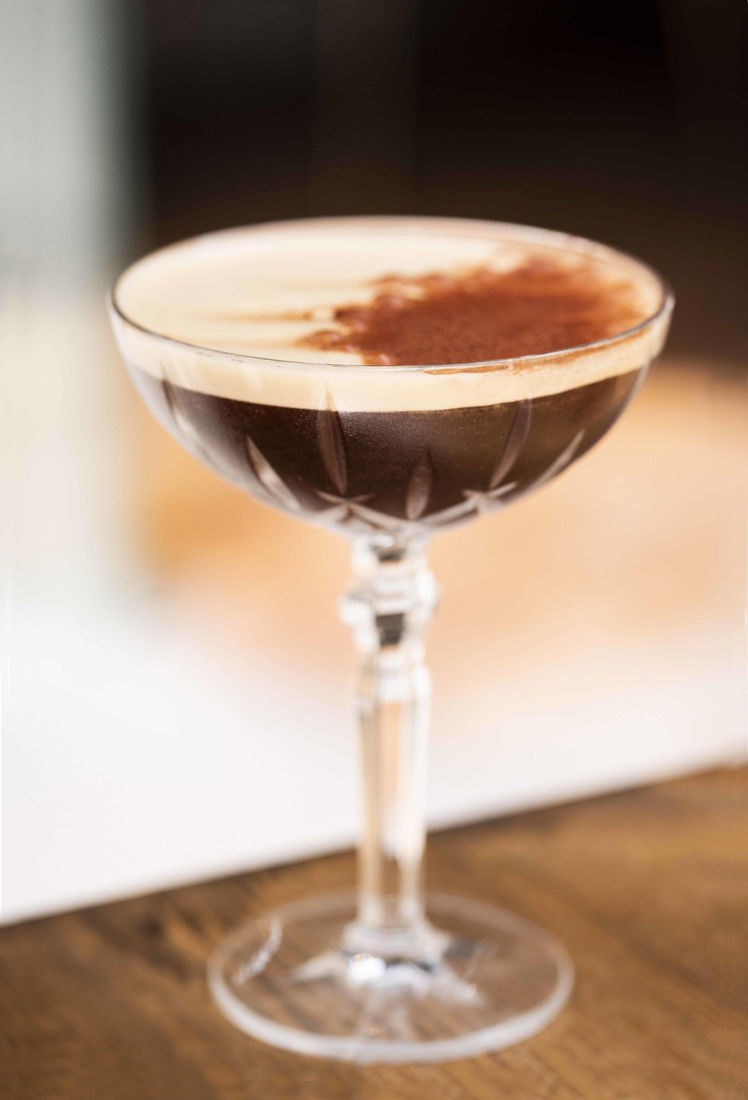Espresso Martini at Cremat 11, Barcelona. Photo © Barcelona Food Experience.