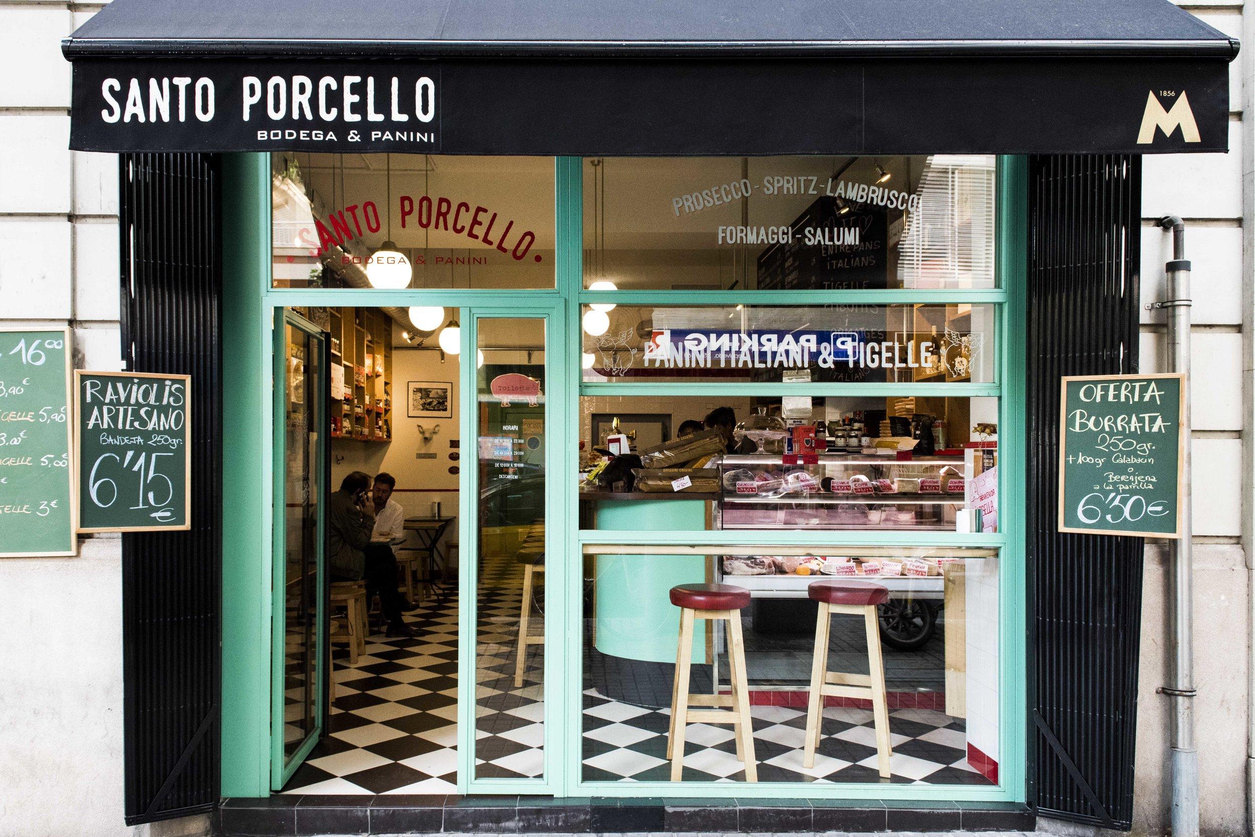 Bodega Santo Porcello, Barcelona. Photo © Barcelona Food Experience.