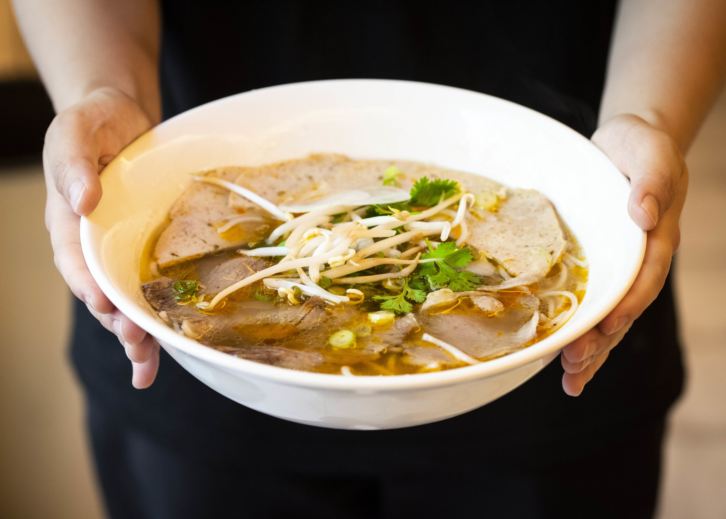 Spicy Beef Noodle Soup at Viet Kitchen, Barcelona. Photo © Barcelona Food Experience.