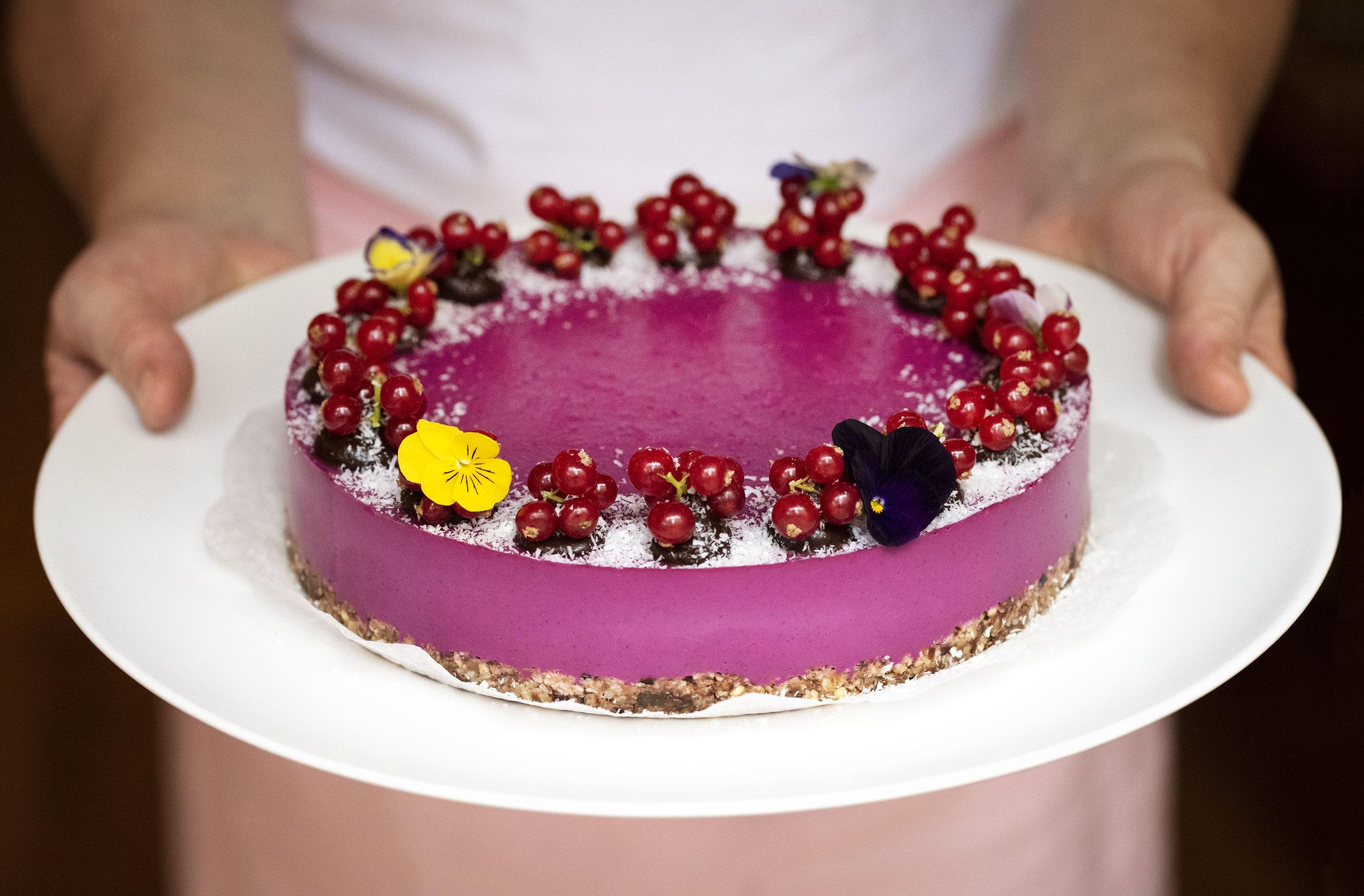 Cake at Wild Lulita, Barcelona. Photo © Barcelona Food Experience.