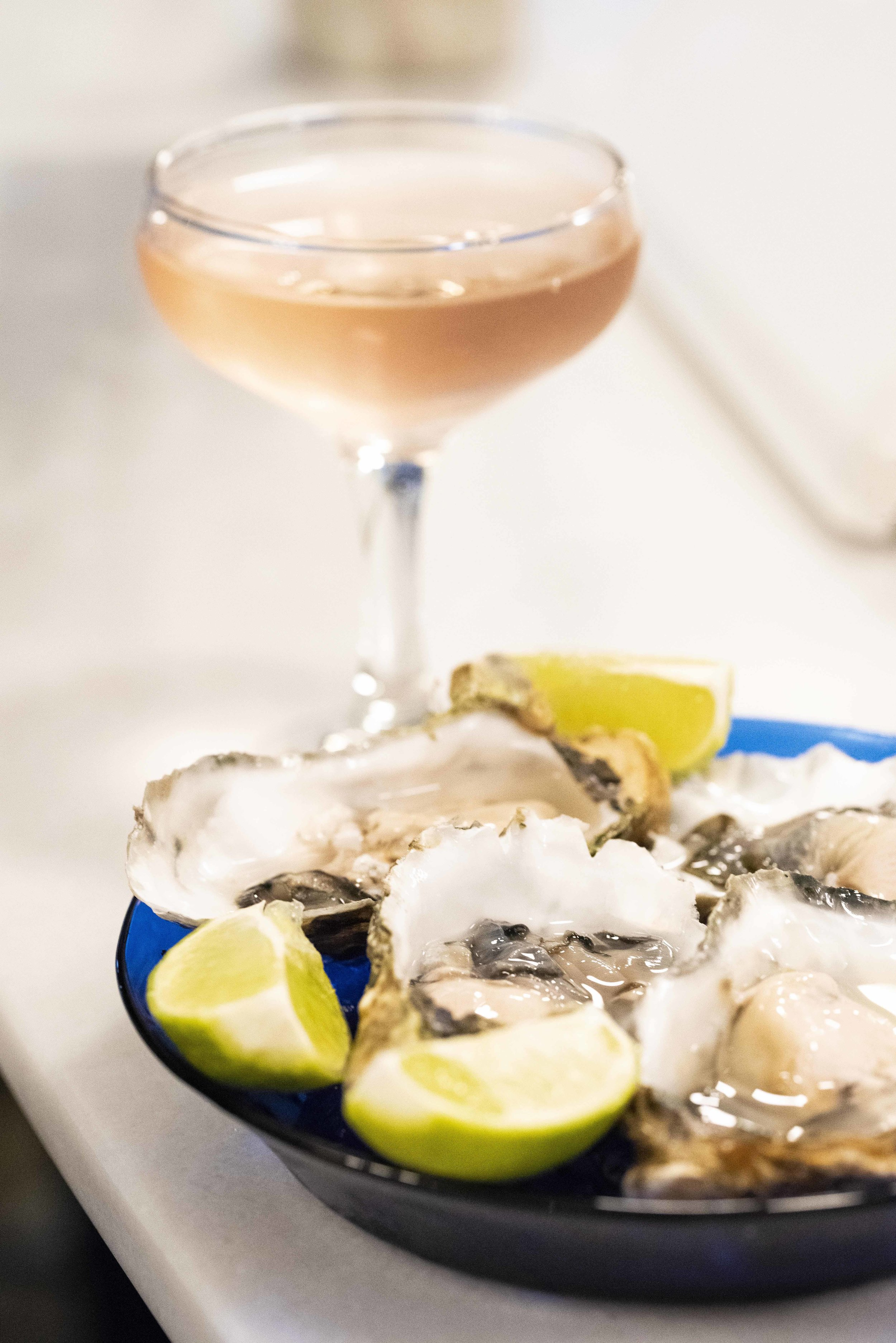 Oysters at Atlantis Gastrobar, Barcelona. Photo © Barcelona Food Experience.