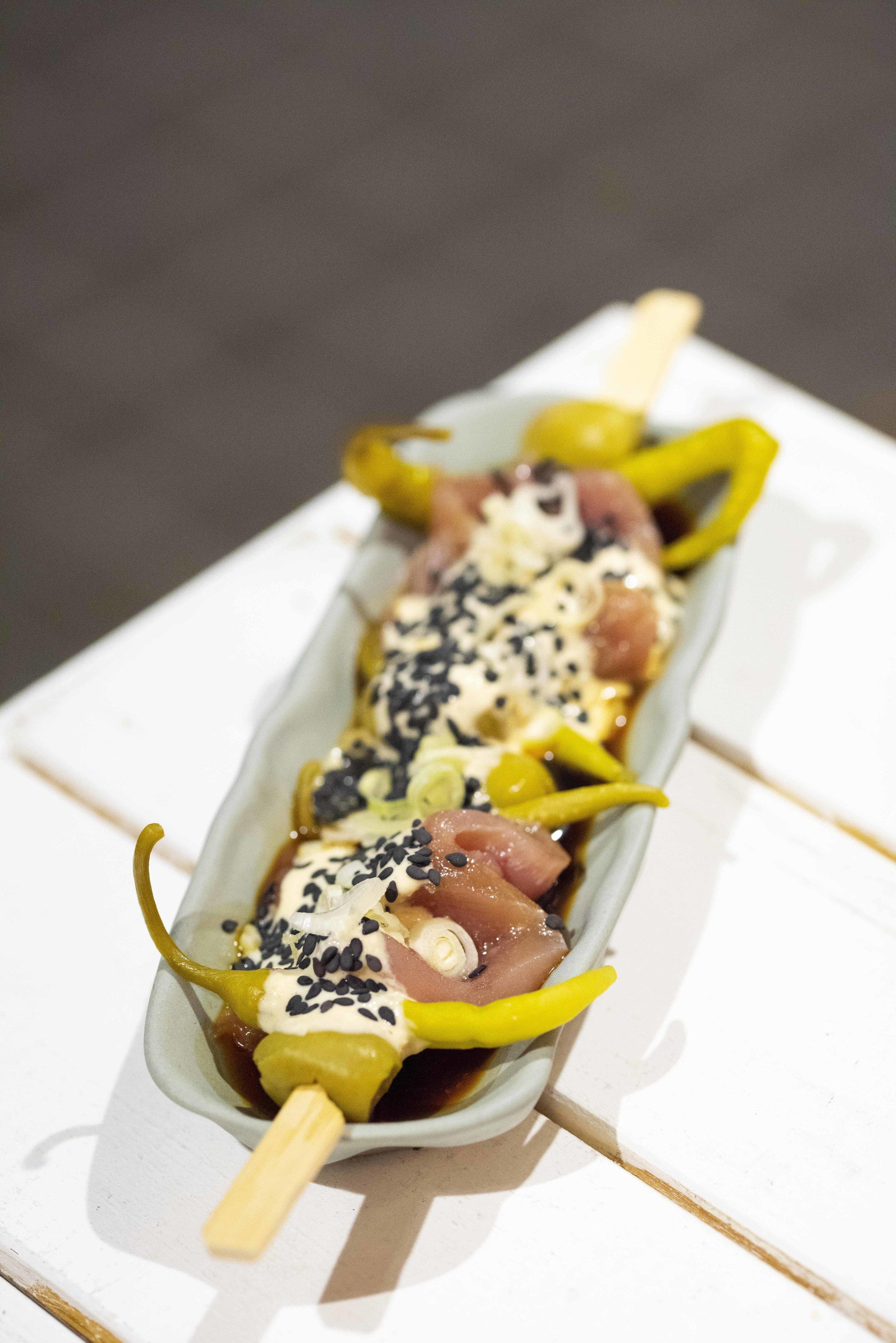 Gildas at Atlantis Gastrobar, Barcelona. Photo © Barcelona Food Experience.