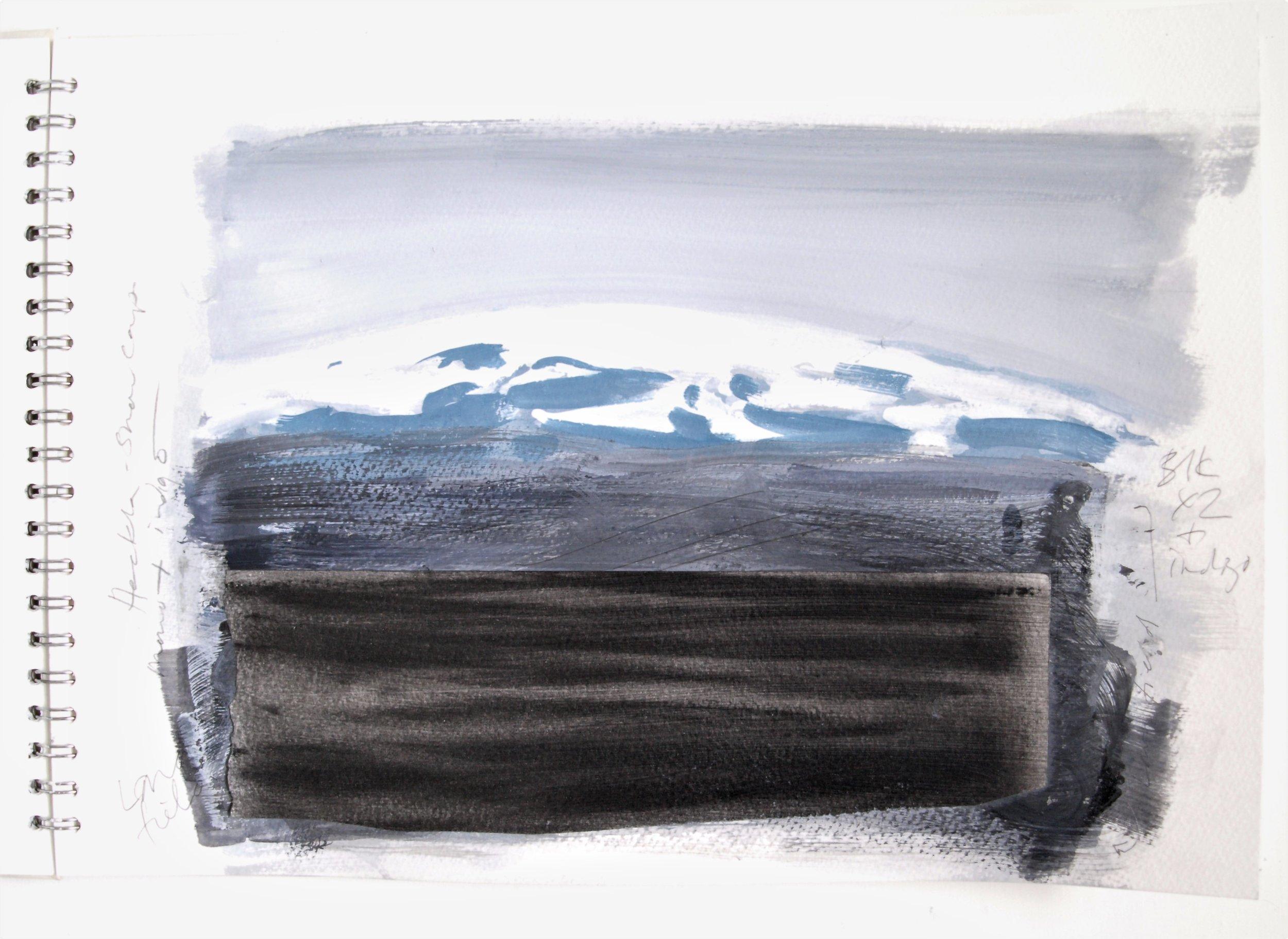 ICELAND LIGHT INTO DARK Sketchbook 2016 (page 8) C.G.GUEST.JPG