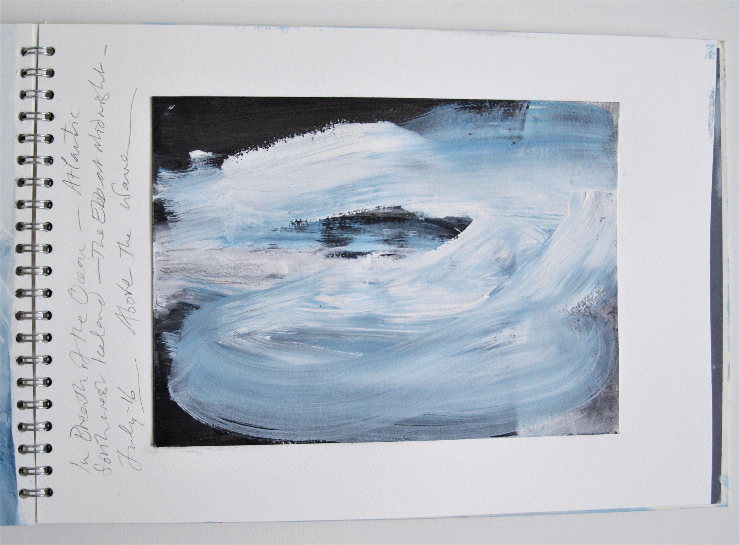 ICELAND LIGHT INTO DARK Sketchbook 2016 (page 22) C.G.GUEST.JPG