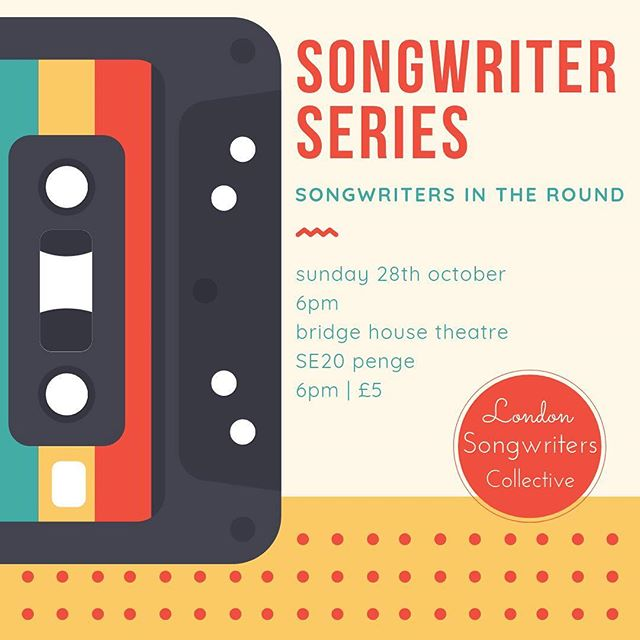 #Repost @londonsongwriters ・・・ We're getting ready for a comeback! The songwriters round starts up again this Sunday! The Bridge House has amazing food and drinks, so come and make an evening of it! Featuring @valeriapozzomusic, @samuelwest_music, Paul Reynolds, @juliestirman and @robertjamesaitken  @thebridgehousese20  Sunday 28 October  6pm | £5  #singersongwriter #singer #songwriter #soul #pop #folk #americana #guitar #acousticguitar #violin #newmusic #originalmusic #gigs #londongigs #livemusic #london #selondon #songwritersintheround #songwriterseries #music #crystalpalace #penge