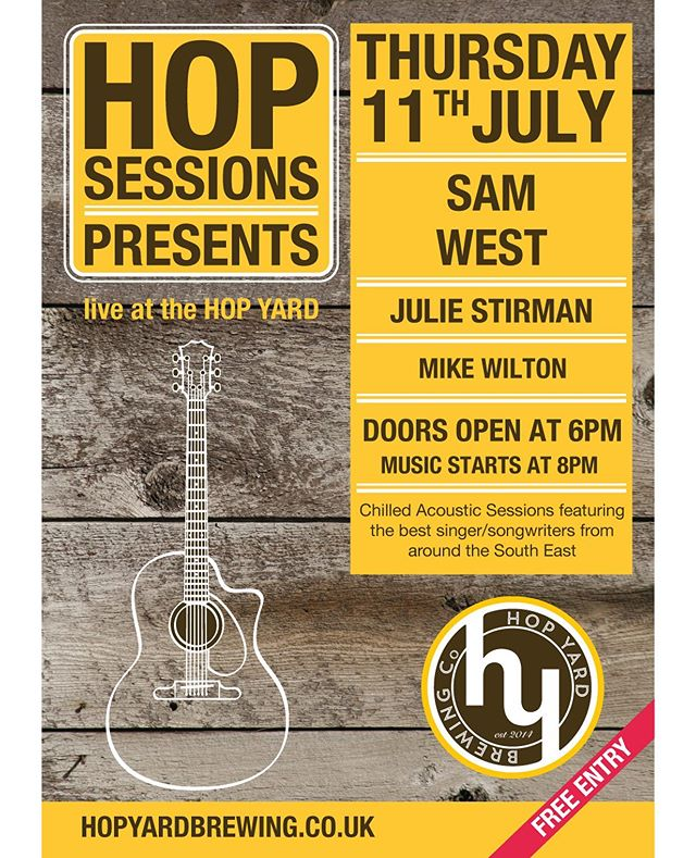 I'm playing with @robertjamesaitken and @samuelwest_music on Thursday 11th July! Come for the pizza and stay for the music. It's gonna be a good 'un!  #singersongwriter #livemusic #gigs #acoustic