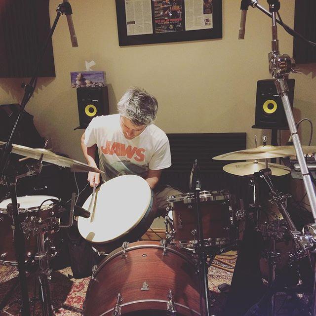This guy! @dannymullowney  #newmusic #folkmusic #singersongwriter #americana #percussion #london #music #originalmusic #jaws #acoustic #drummer #studio #homestudio #ep #songwriter #songwriting #ukamericana