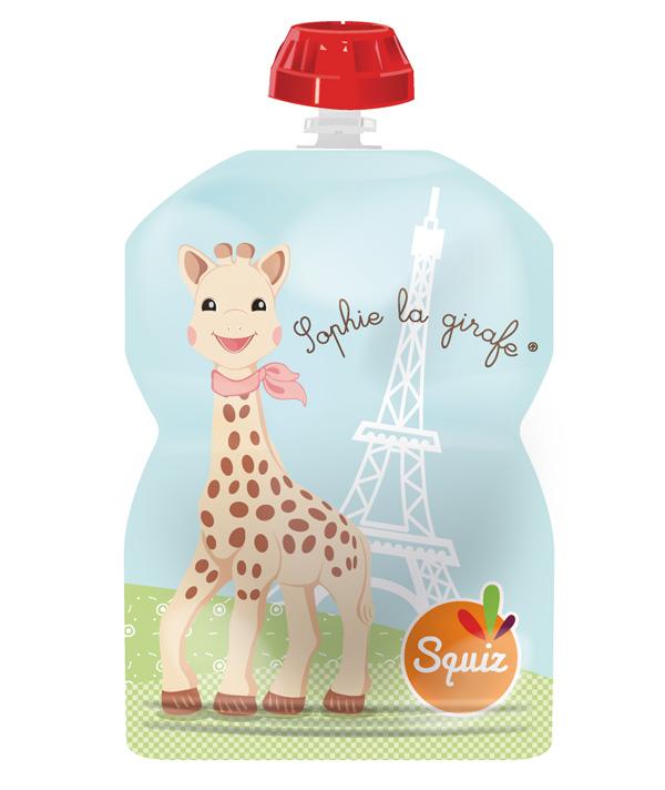 Sophie la girafe - Tour Eiffel