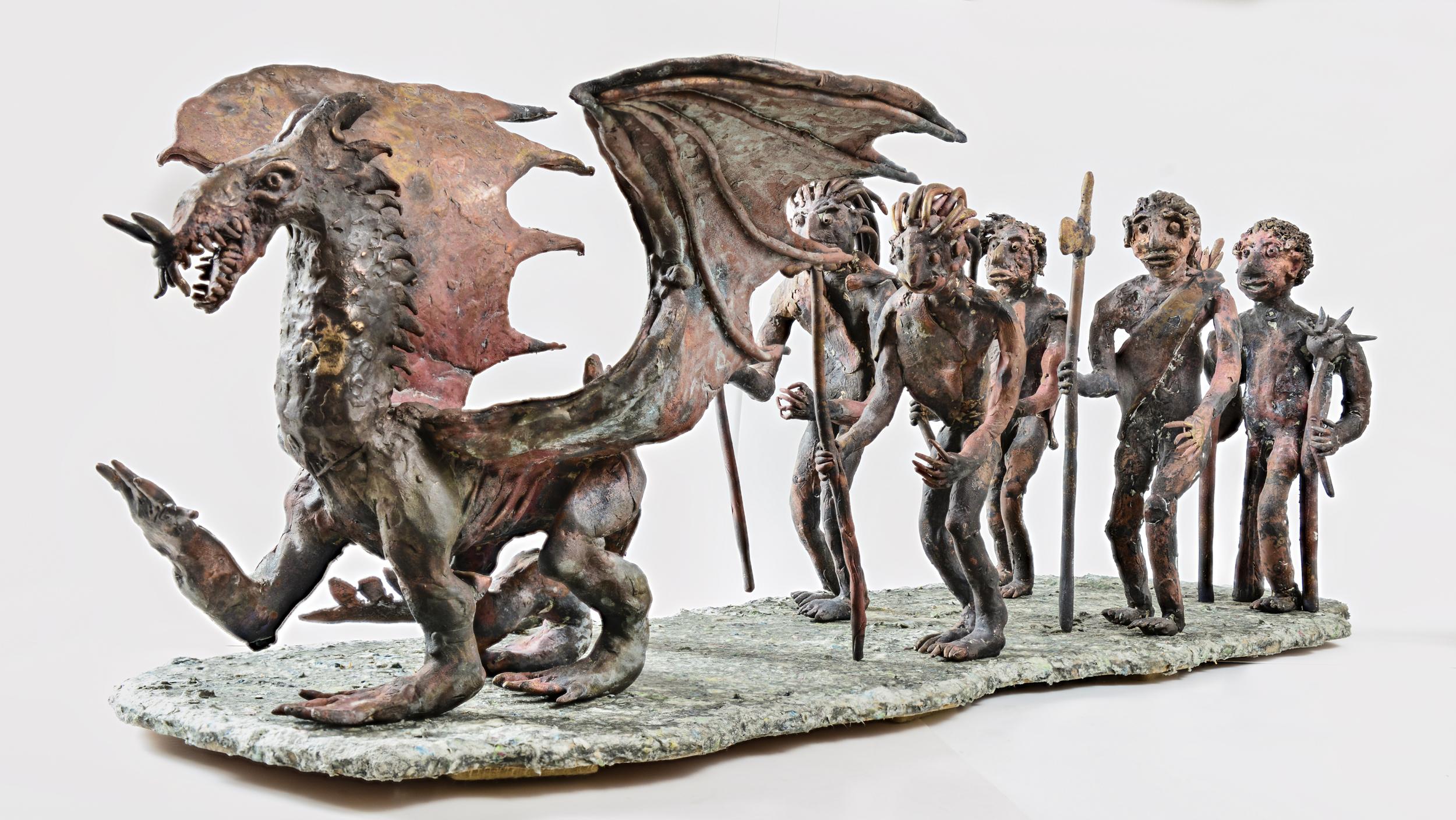 Drachenfeldzug 2016 - Bronzeguss