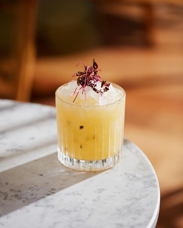 Enjoy our Passion Fruit Caipiroska: a sweet, spring-inspired cocktail.  Featuring a fabulous blend of Ketel One and St Germain elderflower with fresh passionfruit and lime, the perfect intro to sunny May.