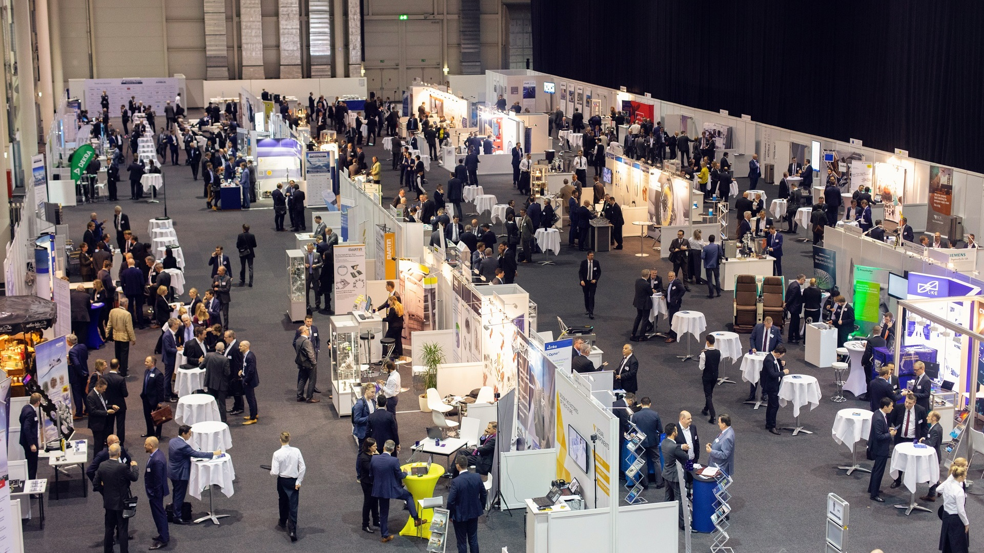 Be part of the world's largest aviation conference with accompanying exhibition760+ Attendees90+ Exhibitors -