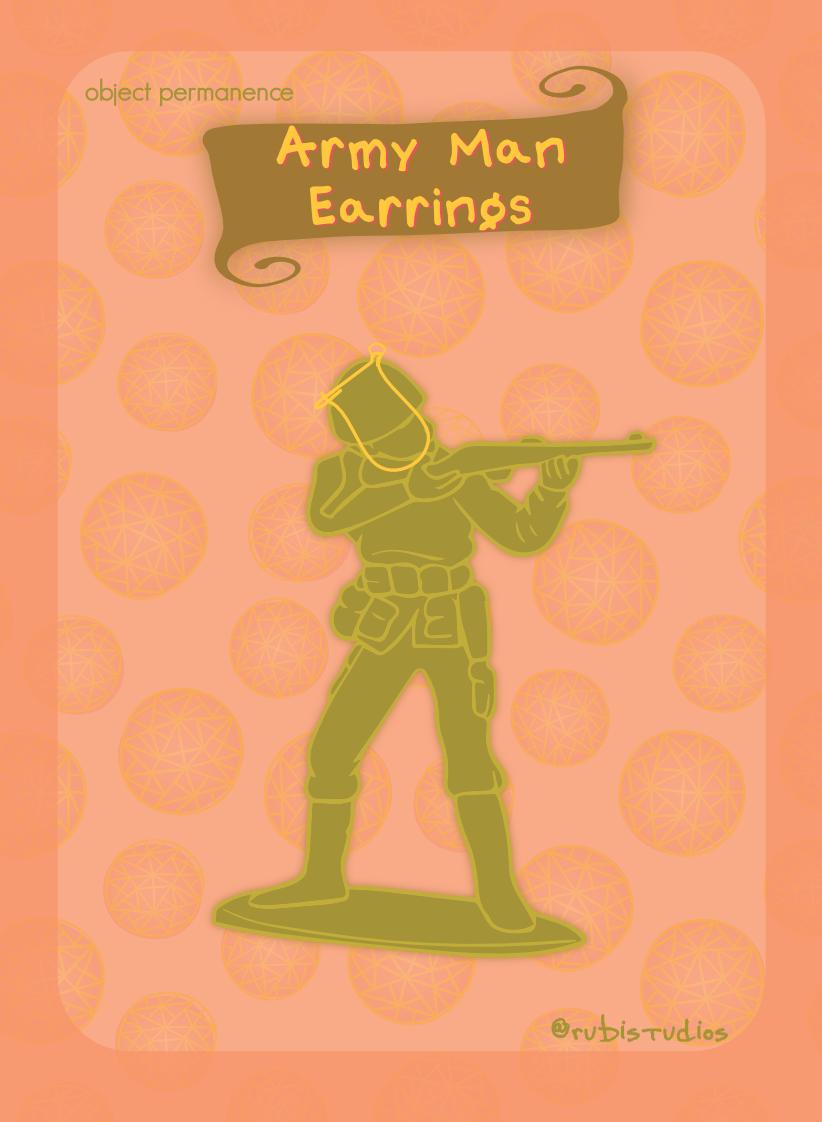 OP52f army man earring.jpg