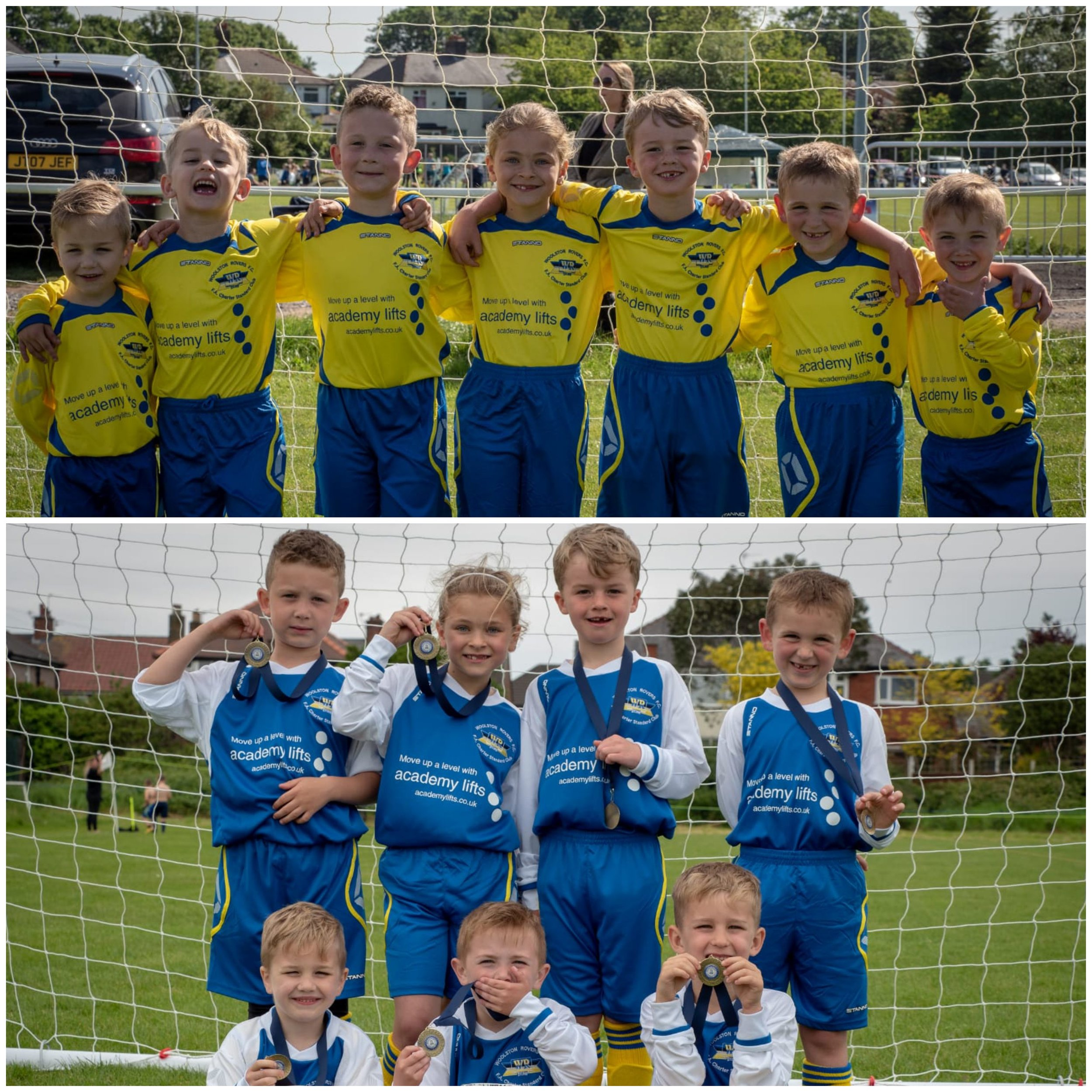 Keeping It Local! - Academy Lifts are proud to be sponsoring Woolston Rovers U6's this season.