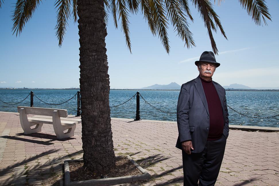Fathi Triki, Philosophe tunisien. Tunis. Pour le WochenZeintung. Mars 2017.