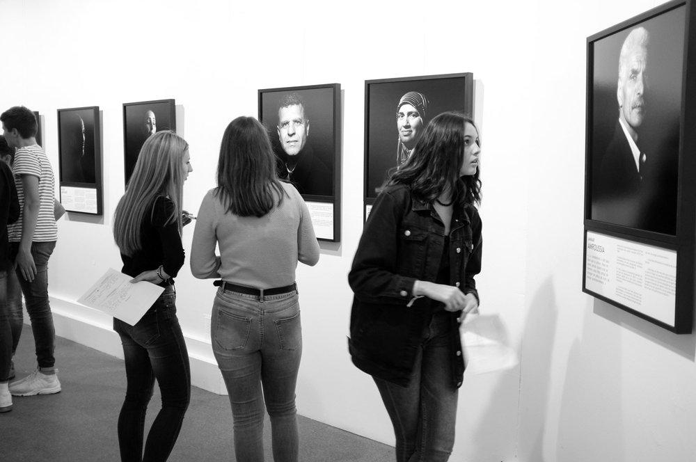 Exposition Sous le Jasmin, histoires d'une répression en Tunisie. Festival Les Francophonies en Limousin. Limoges. 2017.