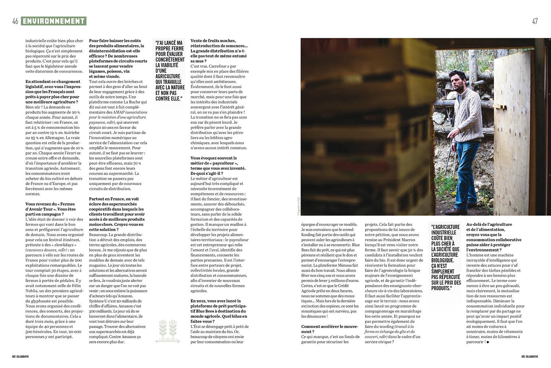"""Portraits pour le numéro spécial """"Idée collaborative """" de Socialter. Décembre 2017.  Avec  Yann Arthus Bertrand,  Maxime de Rostolan , Aurélien Bellanger,  Amandine Barthélémy et  Nicolas Colin ."""