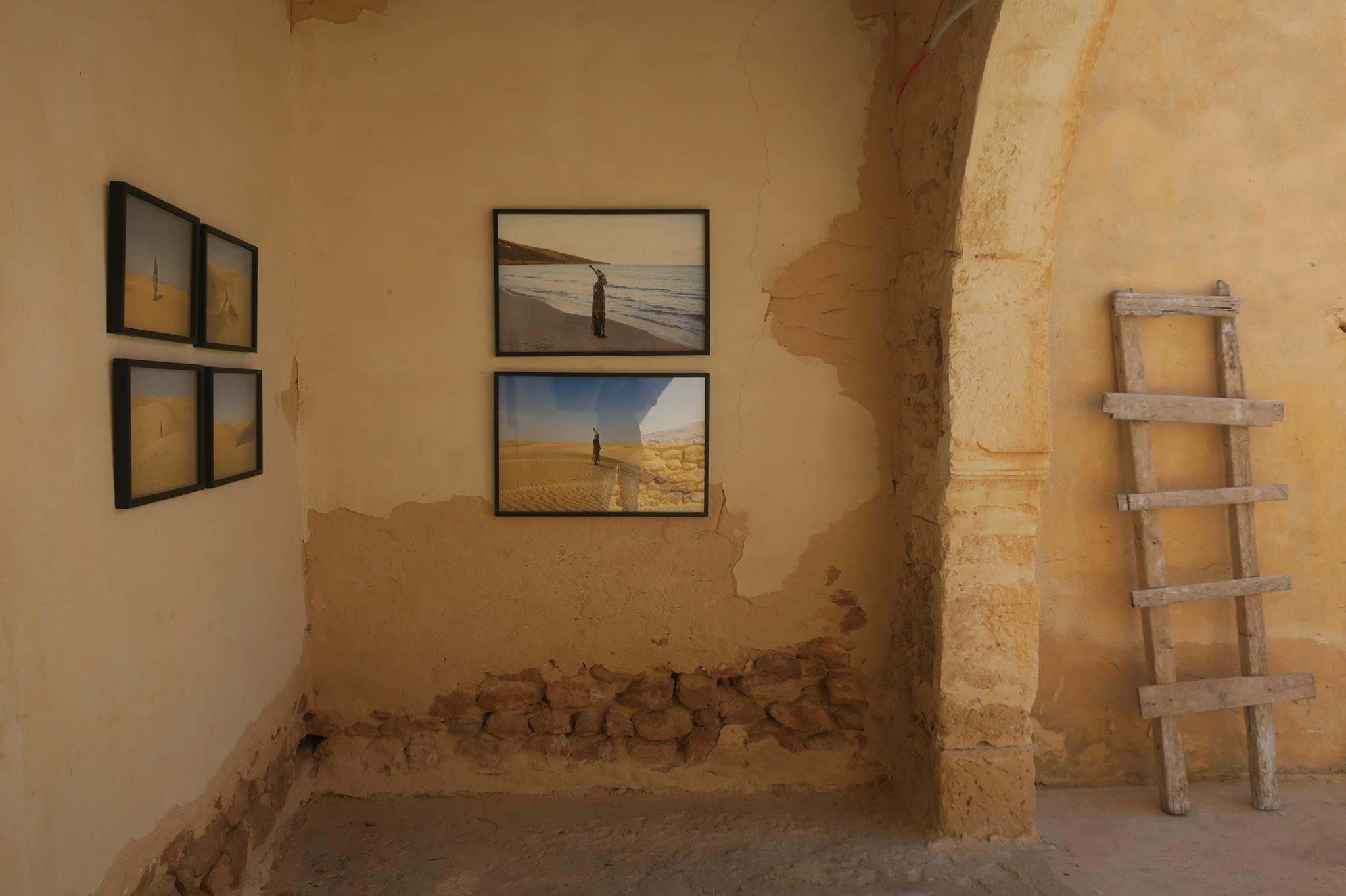 """Looking for Saadiya"". Kerkennah#1, Festival International de photographie et Art visuel. Lieux de nul part/ Galerie Ghaya / juin 2018 Kerkennah. Tunisie"