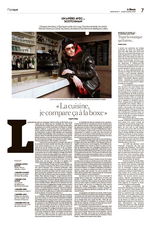 Portrait de Franck Morelo, alias Scotchman. Pour Le Monde. 08 avril 2019.