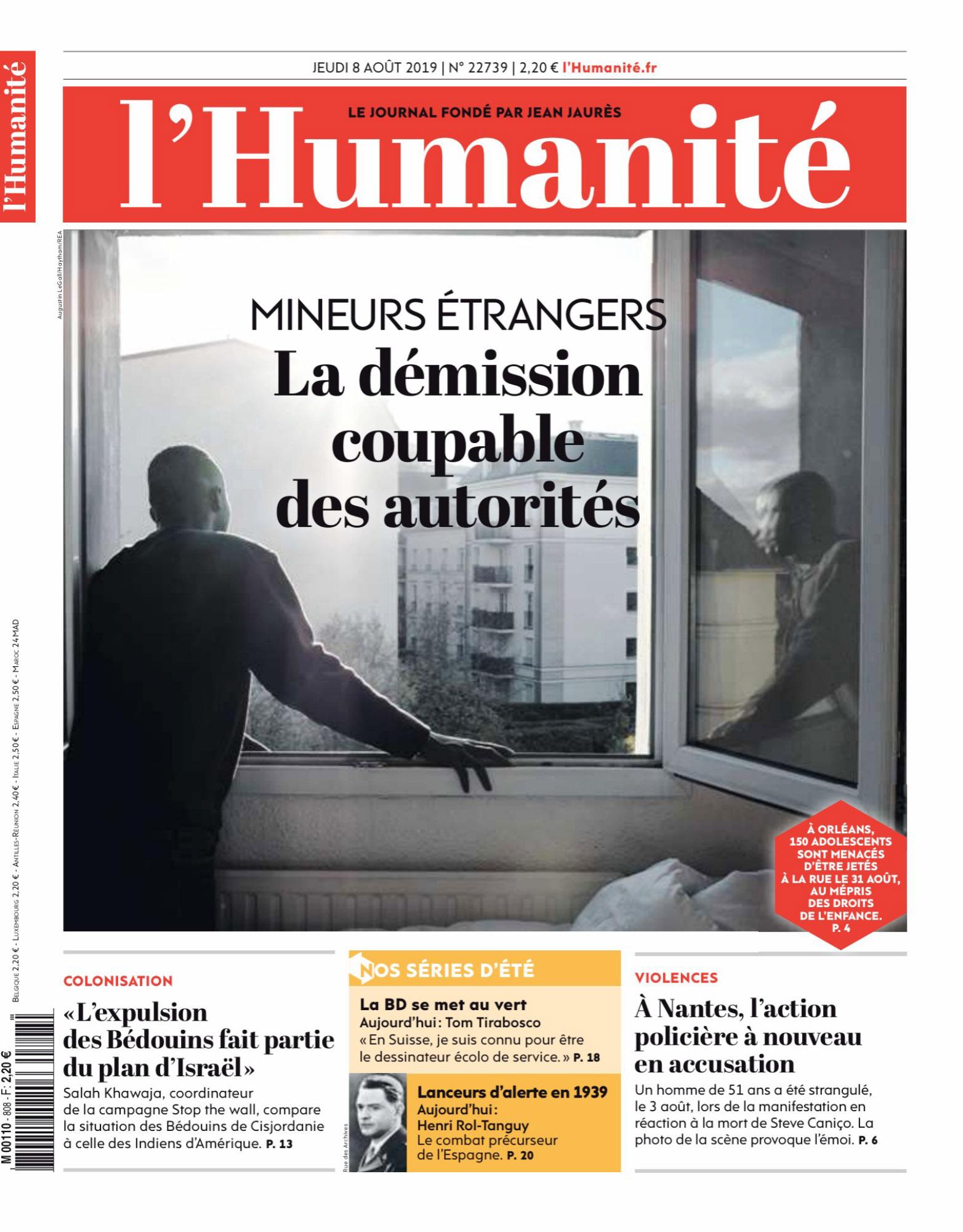 L_Humanite_du_Jeudi_8_Ao_t_2019 couv.jpg