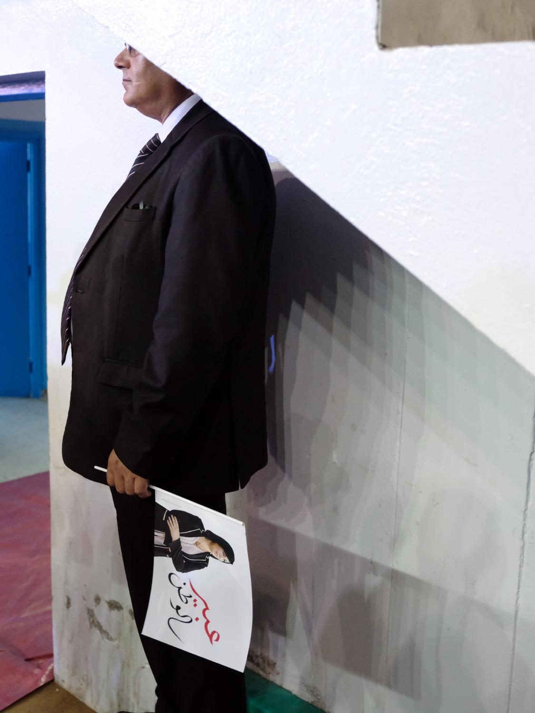 Lancement de la campagne de Abir Moussi, candidate aux élections présidentielles en Tunisie. Tunis, le 03 septembre 2019.