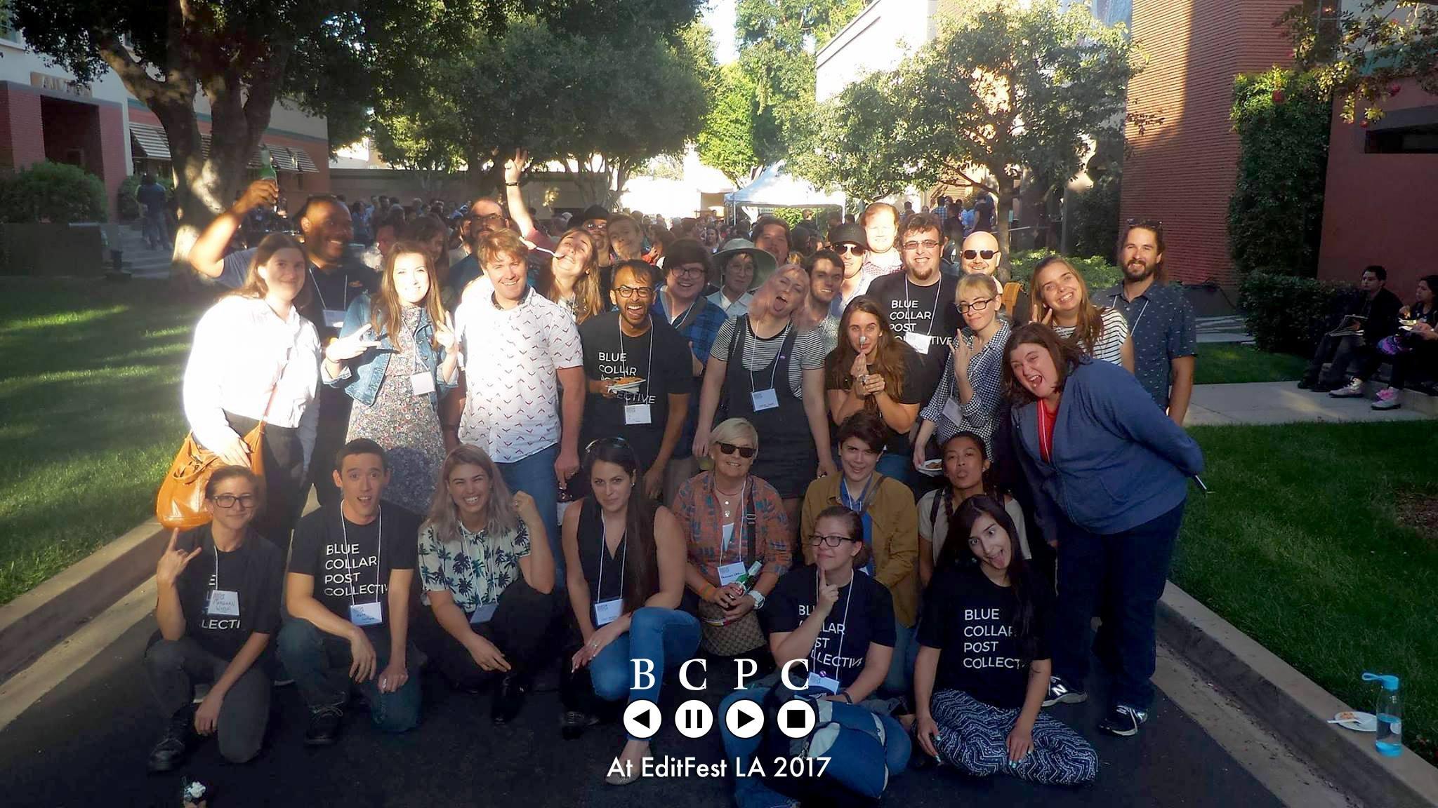 BCPC Members at EditFest LA