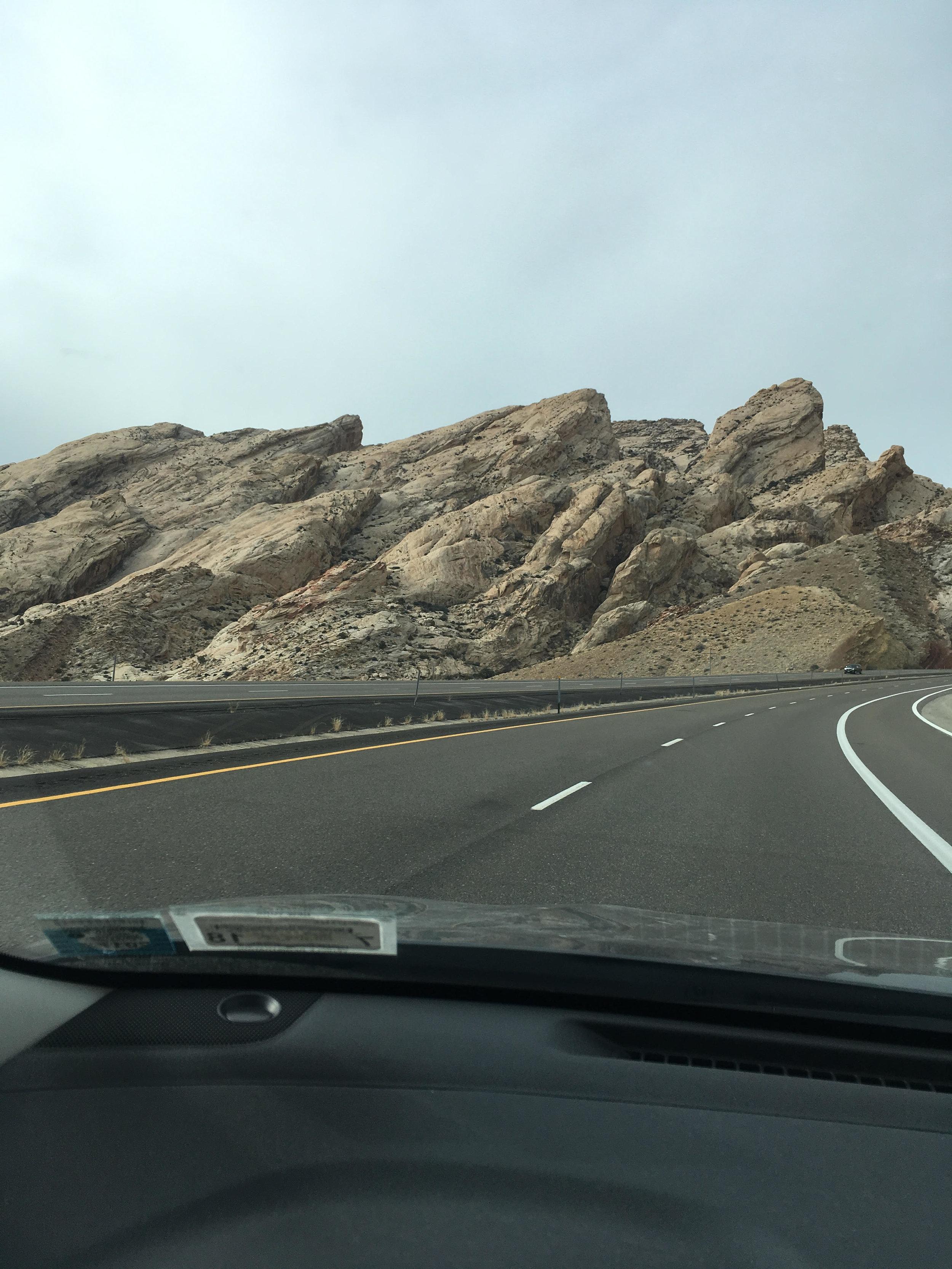 Beautiful Utah landscape.
