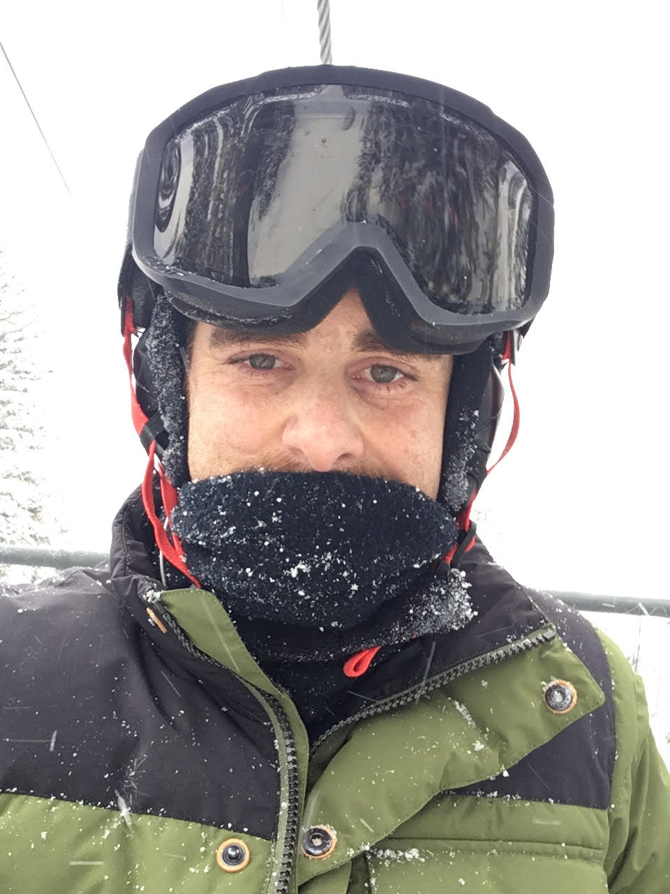 Winter Park Snowboarding trip before my most stressful 6 hours of the trip (getting off the mountain in a snowstorm)