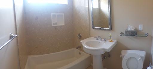 Bathroom view.