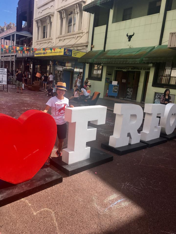 when I lived in Fremantle, Perth to edit a series for Discovery