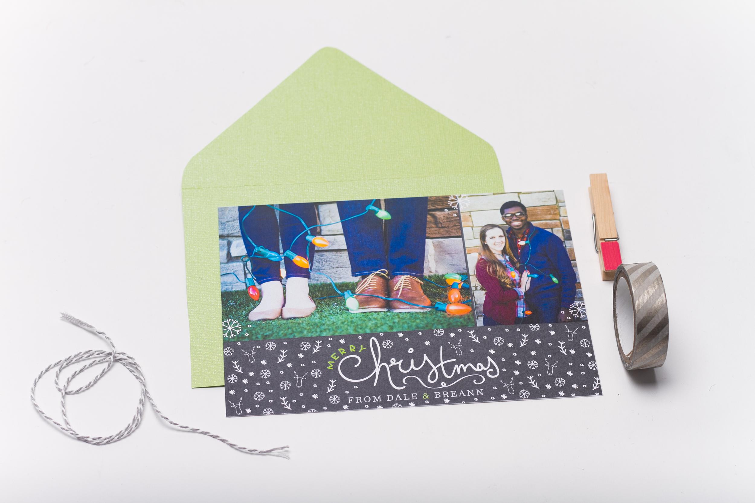 Couple's Christmas Card