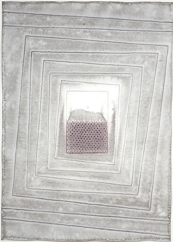 """Akriti I , 2007    Ink and dye on paper    55 x 39""""    (Inventory# SQ732[HK](07226))    Stock NY    $59,000"""
