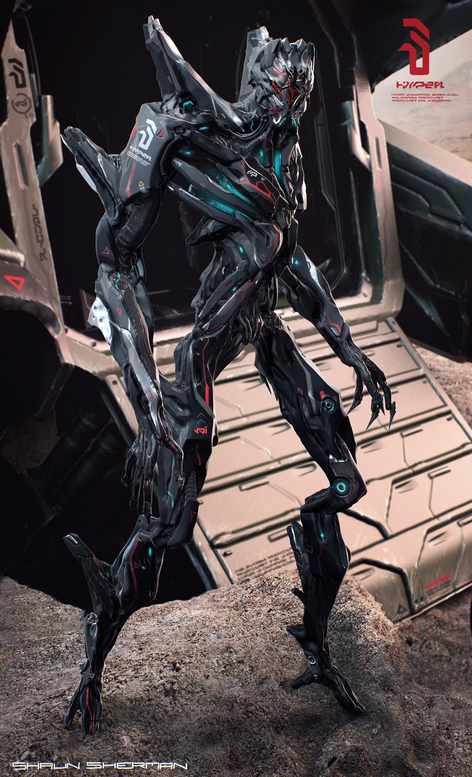 Alien Invader by Shaun Sherman