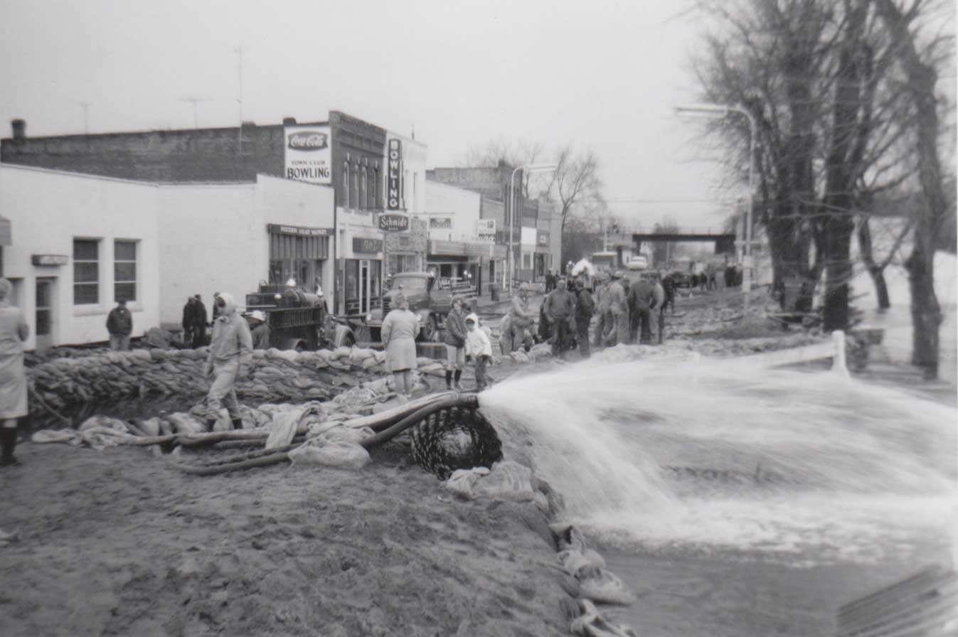 13. Crow River Flood, Town Club Bowling Lanes