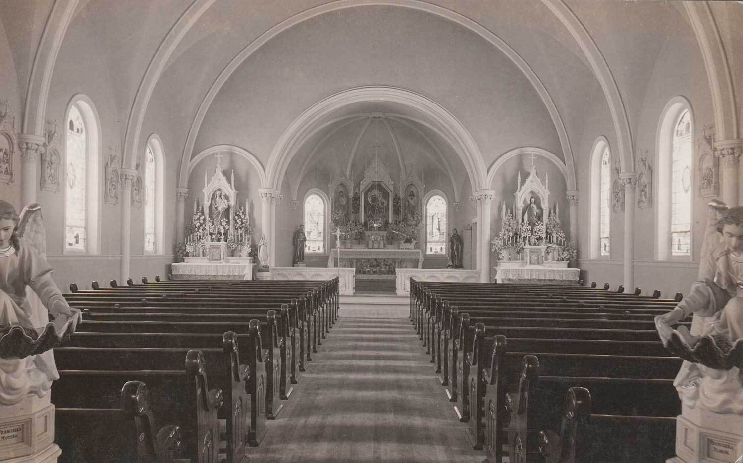 1. Church Interior Front