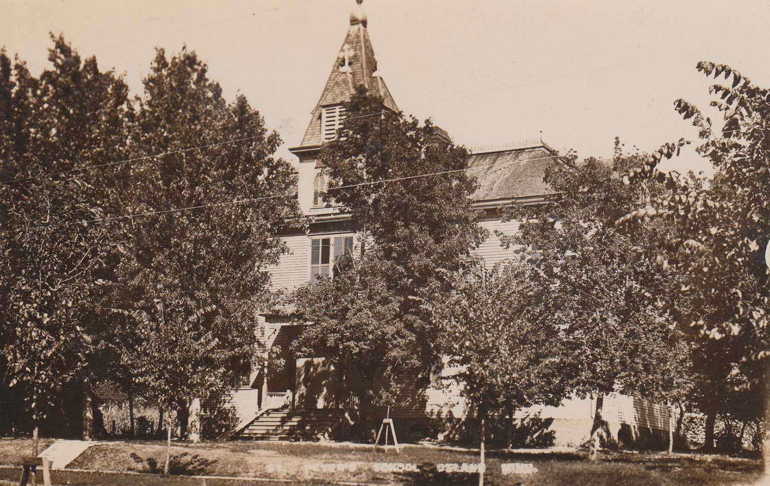 3. Church Postcard