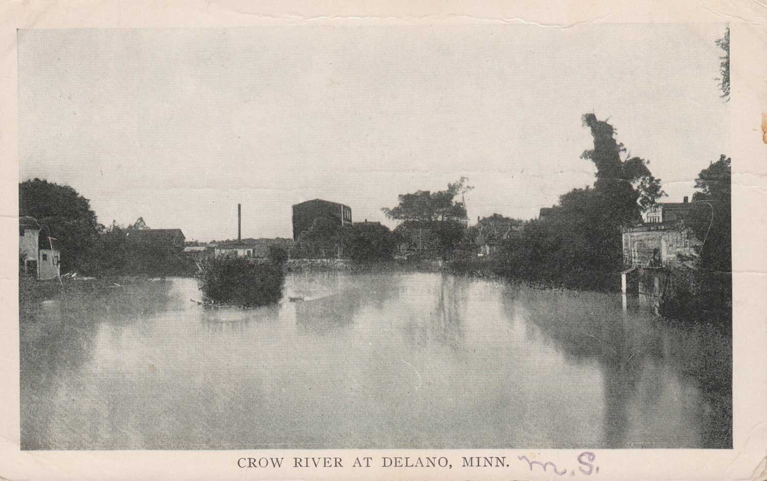 5. Crow River Postcard