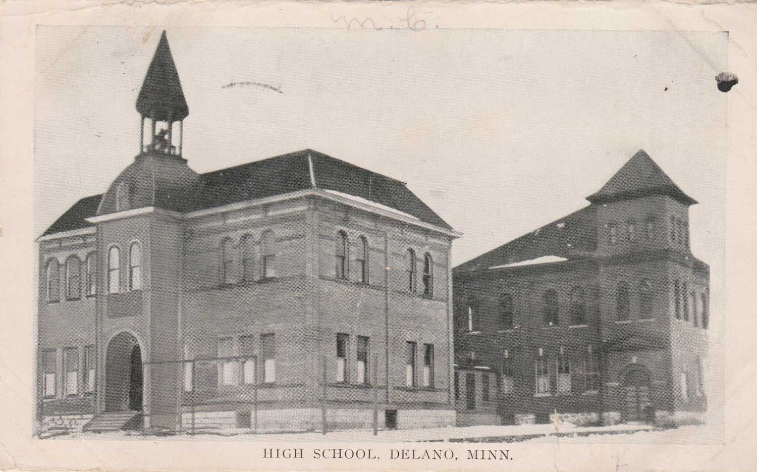11. Delano High School Postcard