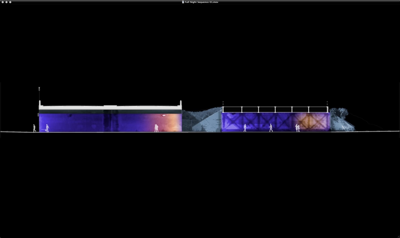 Dereck Revington Studio - BlueGold Variations - Blue Phase Elevation