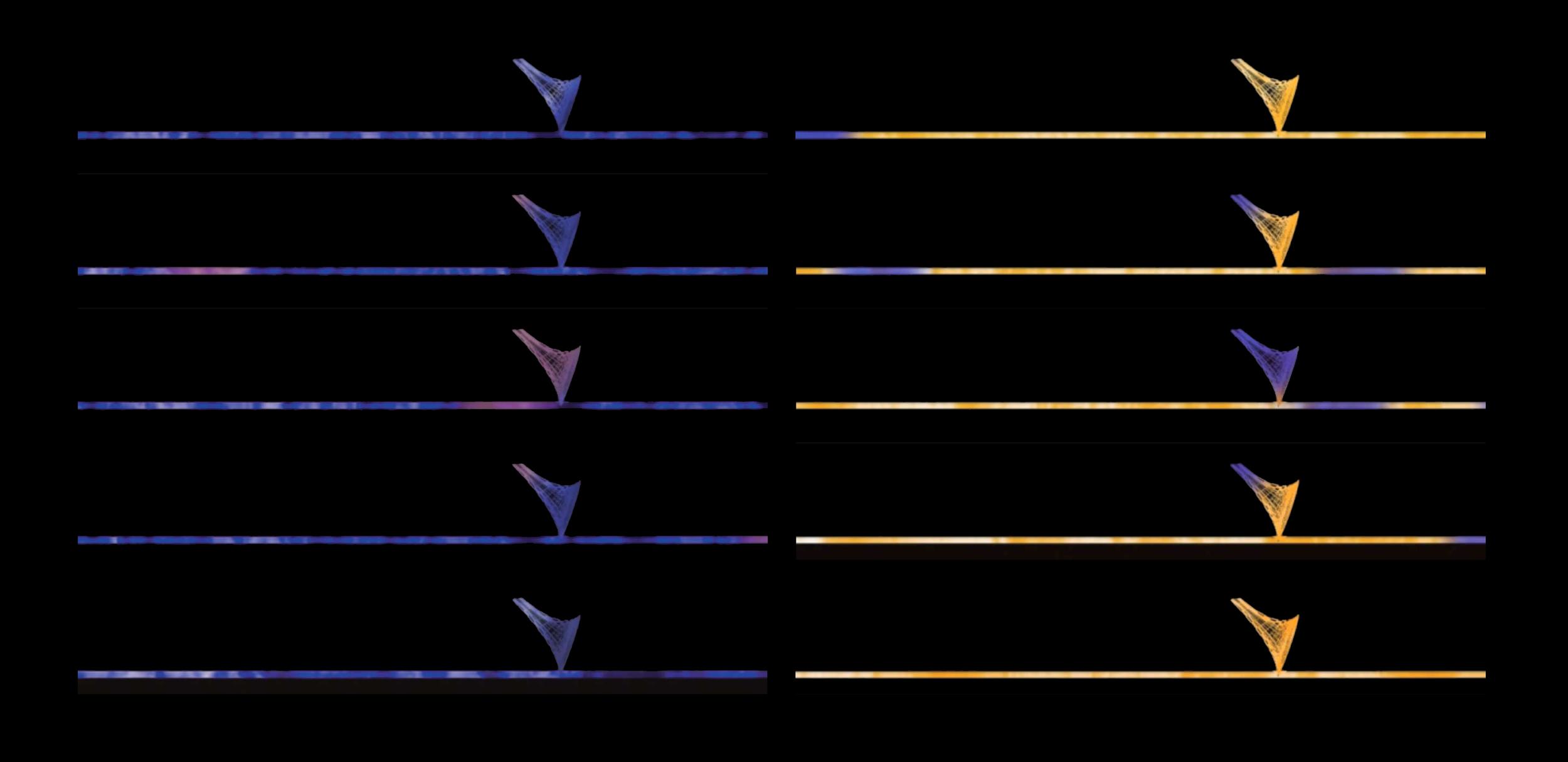 Dereck Revington Studio - Waterline - Colour Sequences