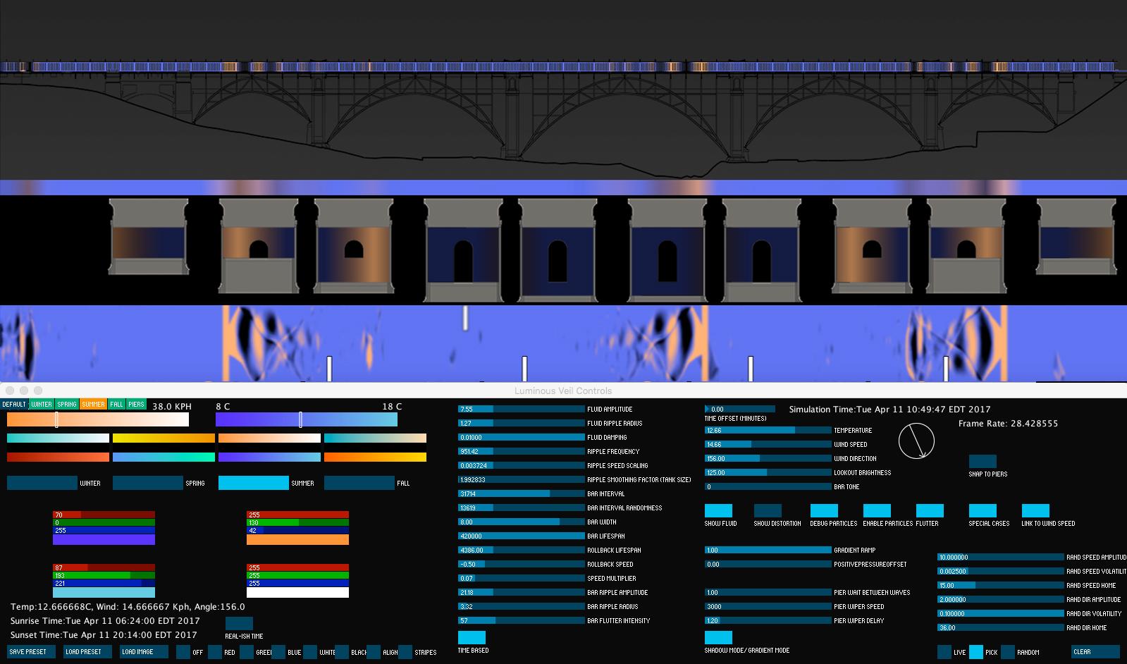 Dereck Revington Studio - The Luminous Veil - Interface Screenshot