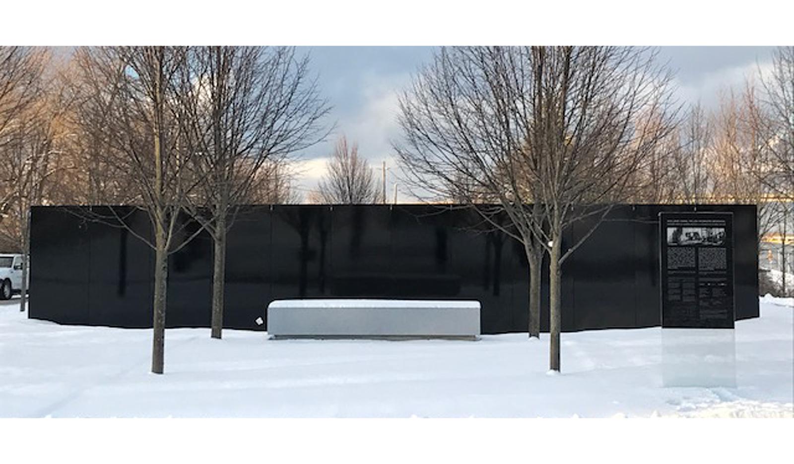 Dereck Revington Studio - Welland Canal Fallen Workers Memorial - Forecourt