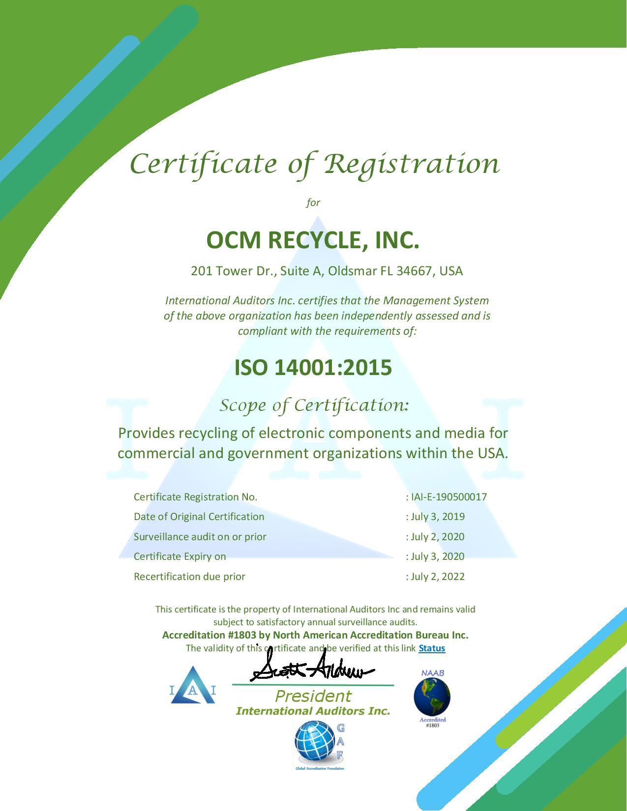 IAI 14K Certificate - OCM 2019 - 2020.jpg