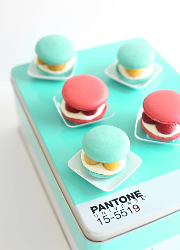 Raspberries and Cream Macarons Pantone SprinkleBakes.jpg