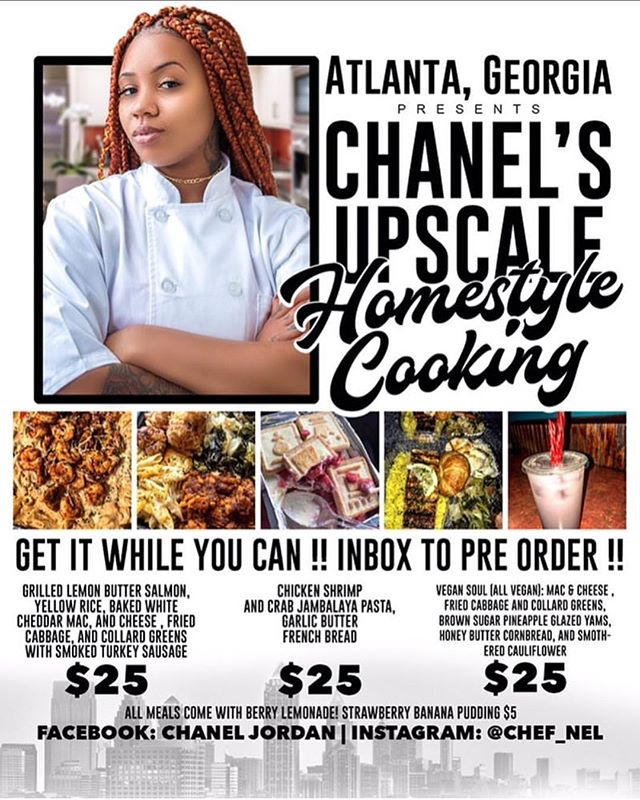 Attention!!! @chef_nel will be serving Vegan & non vegan meals today @ 2pm!!! Her meals are delicious!! dm her our us for location.