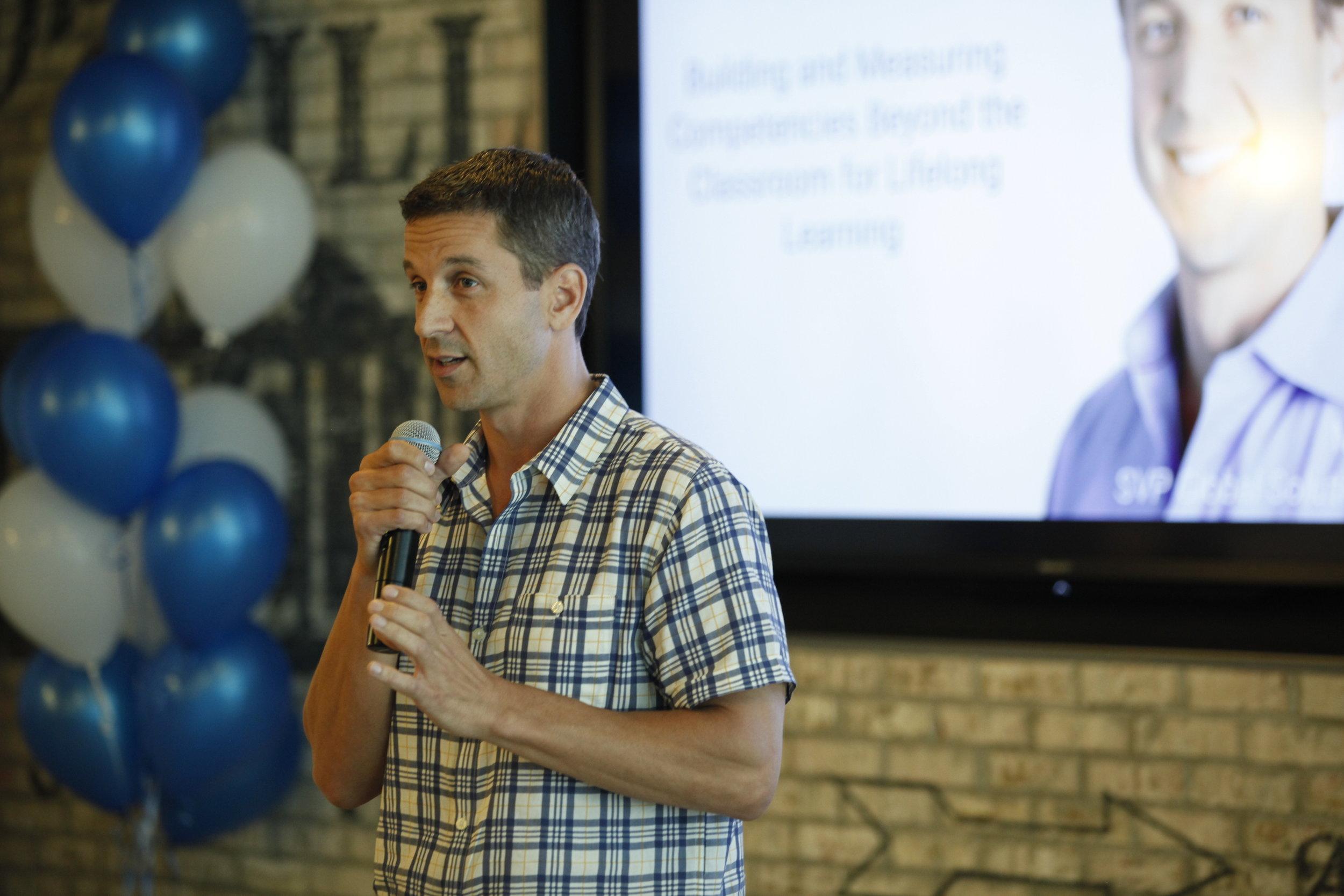 Mike Gamson, SVP of Global Solutions, LinkedIn